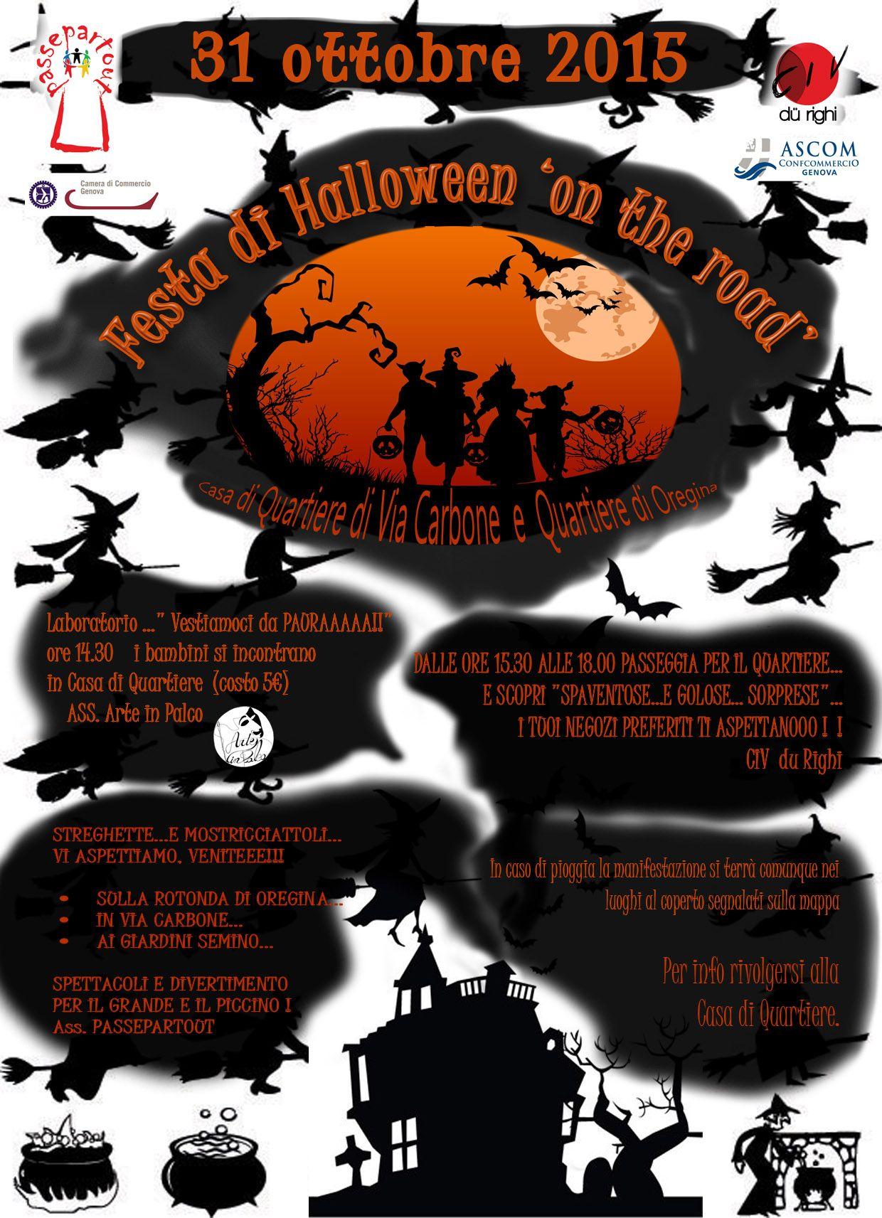 Festa di Halloween on the road  b6342c00249e
