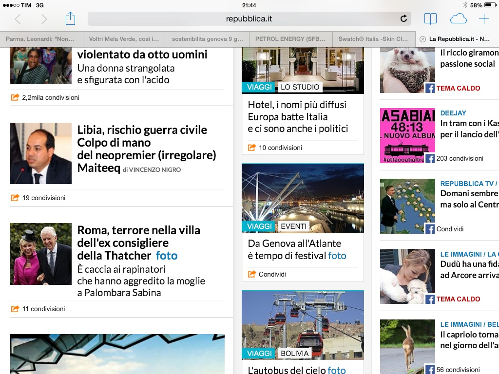 Da genova all 39 atlante tempo di festival for Home page repubblica