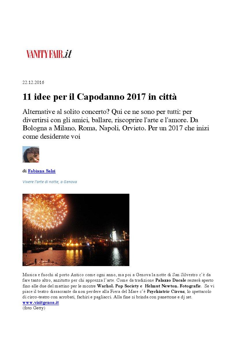 11 idee per il capodanno 2017 in citt for Idee per capodanno italia