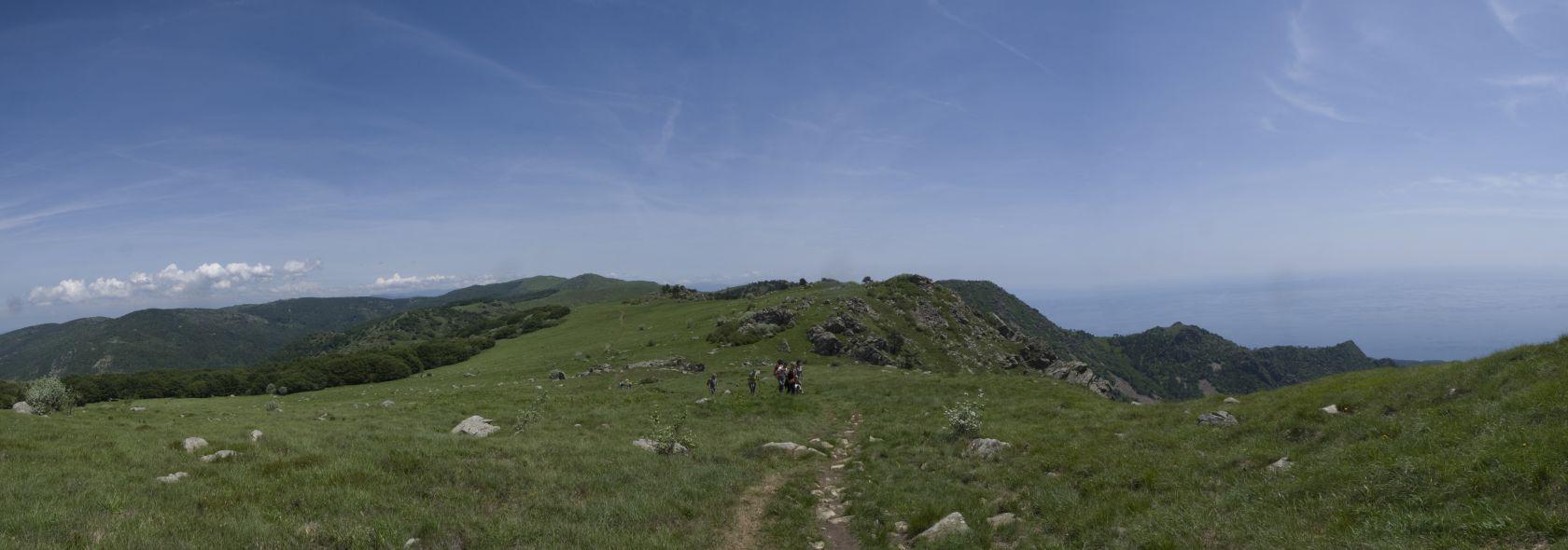 Alta Via verso passo del Faiallo - foto E. Monaci