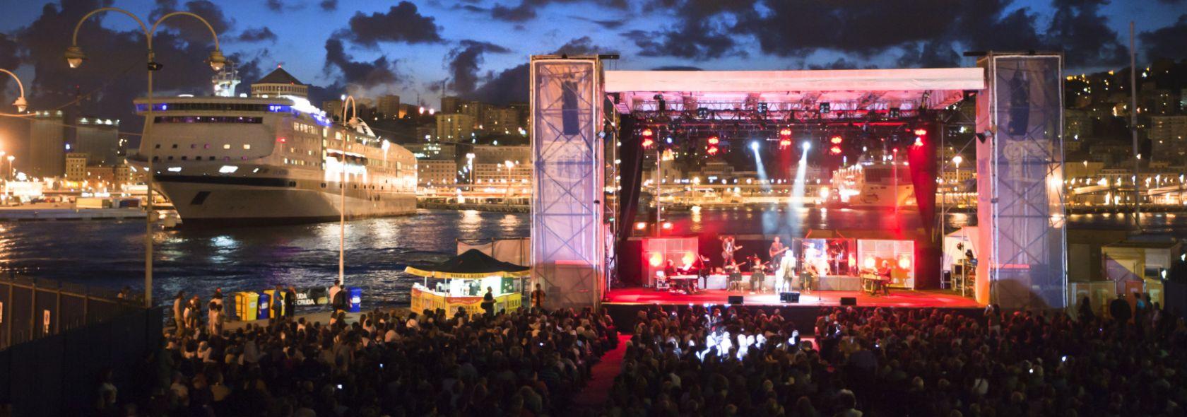 Un concerto al Porto Antico