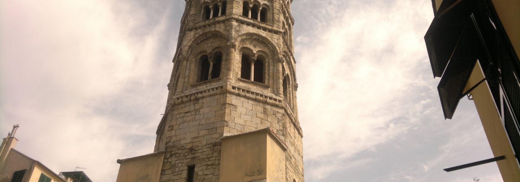 Il campanile della chiesa di San Donato