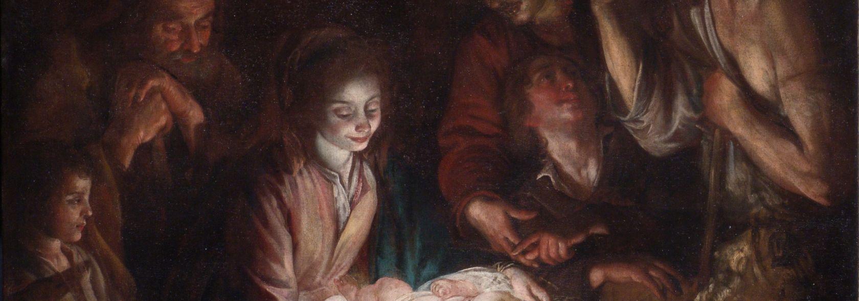 Giovanni Battista Casoni - Adorazione dei pastori