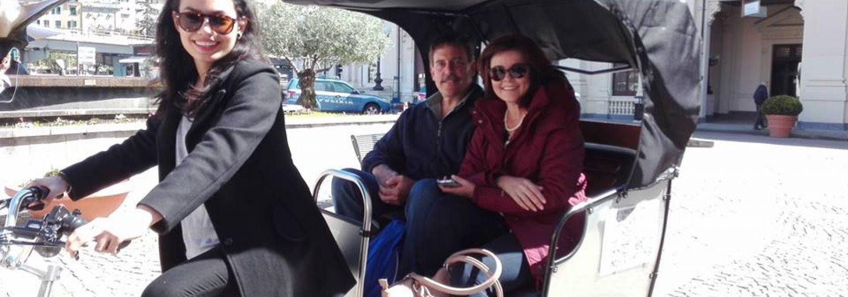 TreeCycle - Il Centro Storico di Genova con risciò elettrico: Stazione Marittima