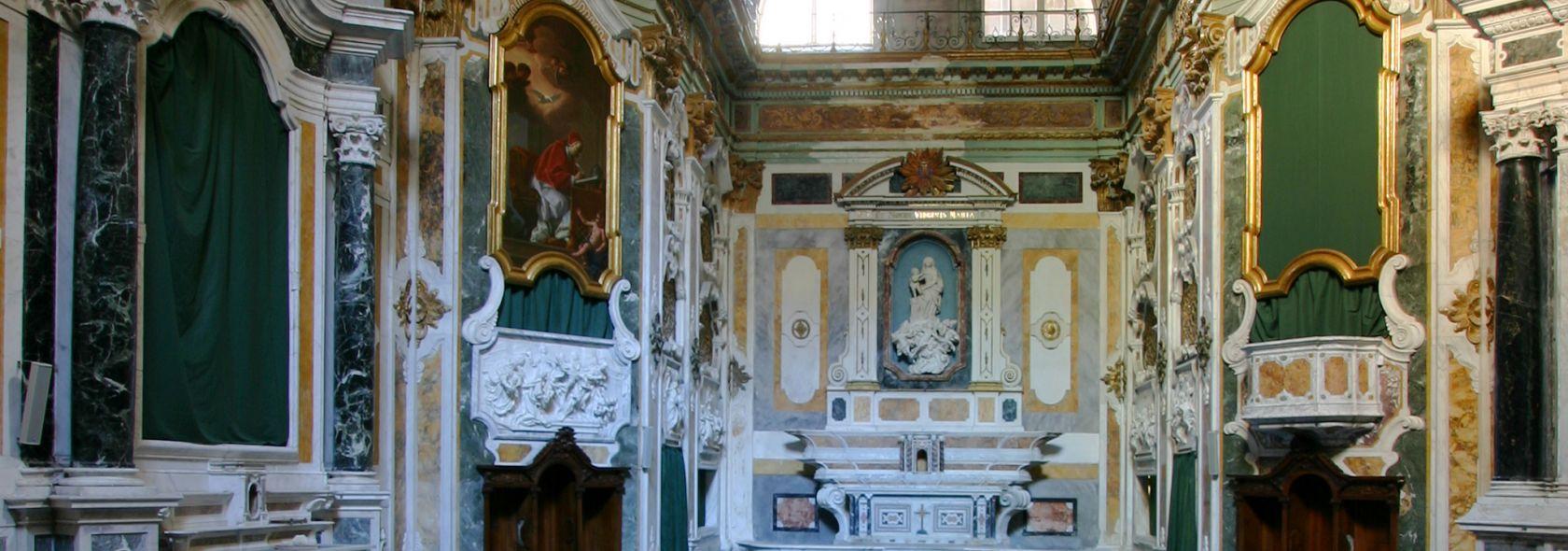 SS. Nome di Maria e degli Angeli Custodi foto @ www.museodiocesanogenova.it
