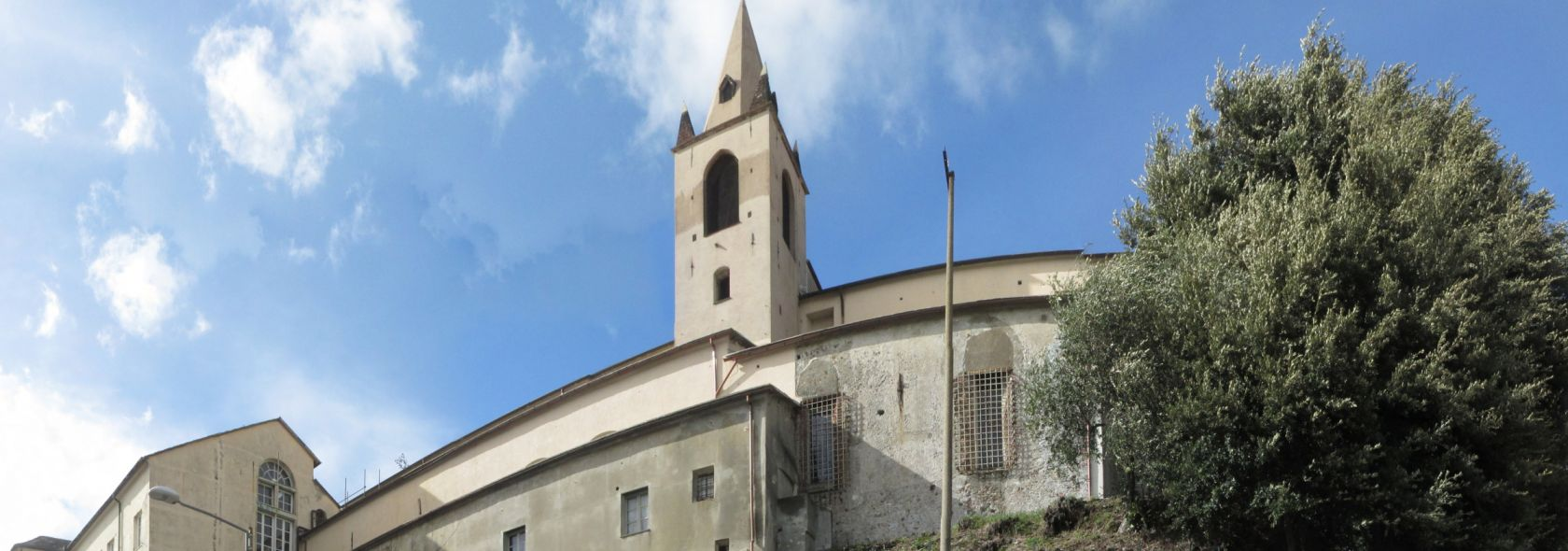Genova, Abbazia del Boschetto - esterno