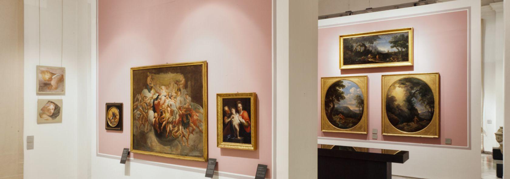 Accademia Ligustica - Sala XVII - XVIII secolo -  foto © Francesco Manias