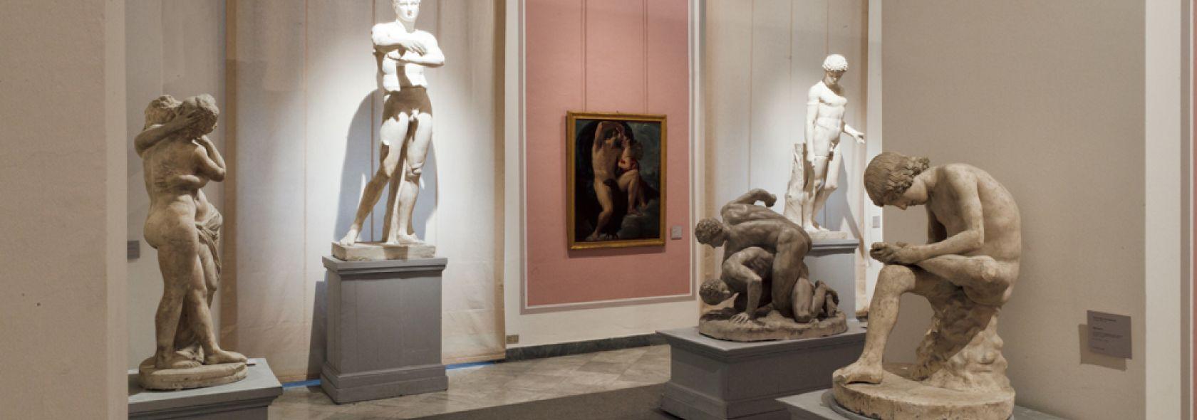 Accademia Ligustica - rievocazione Sala dei Gessi ottocentesca - foto © fManias
