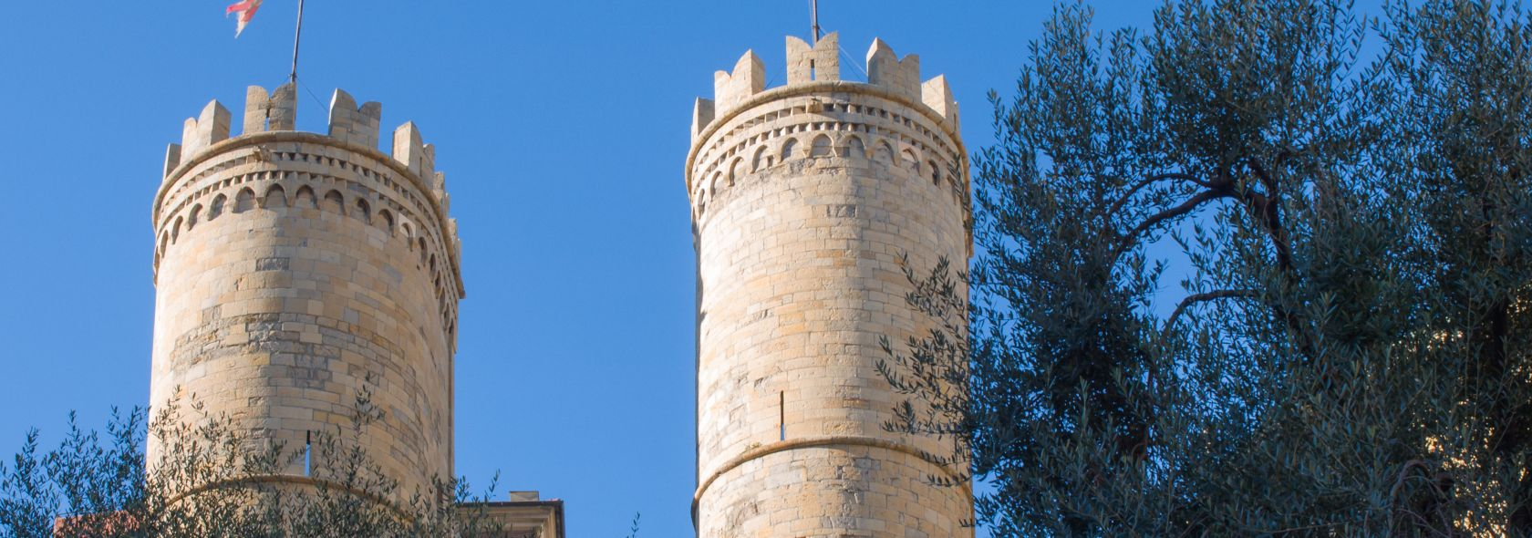 Le torri di Sant'Andrea (Porta Soprana)