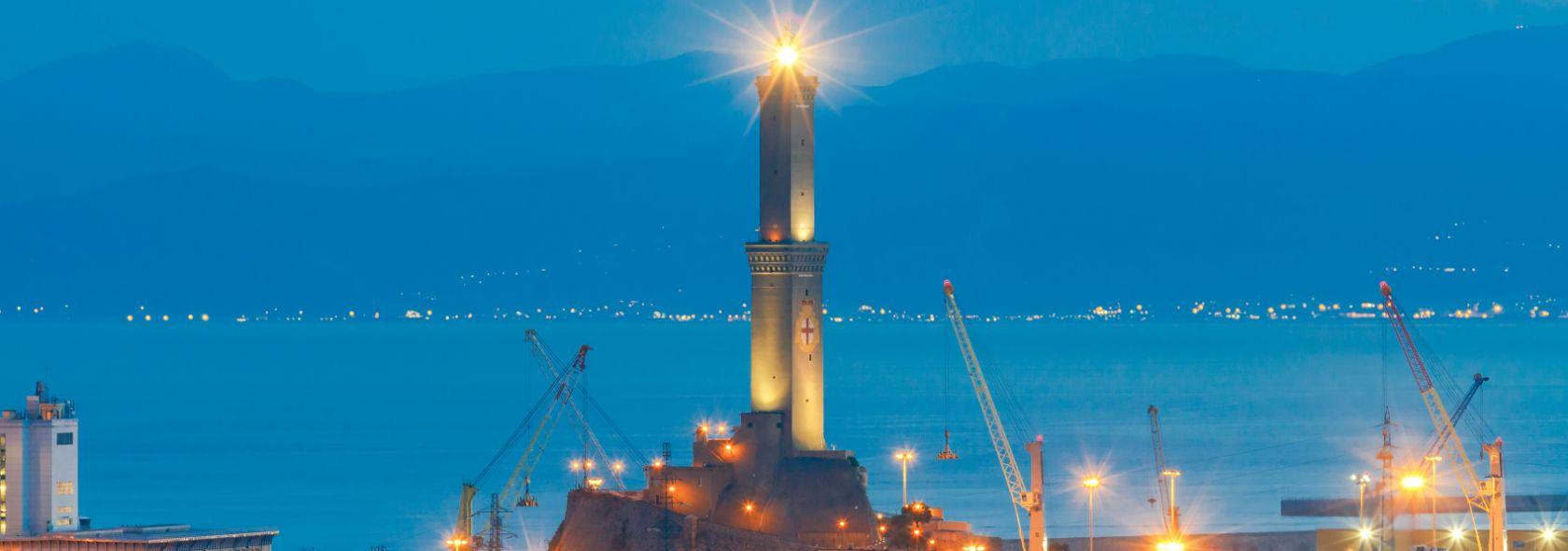La Lanterna al tramonto