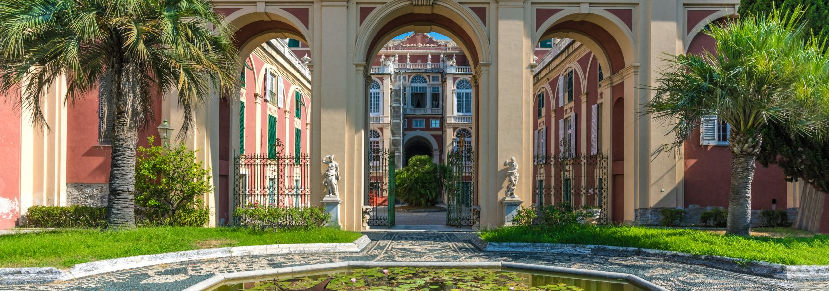 Palazzo Reale - vista sul giardino