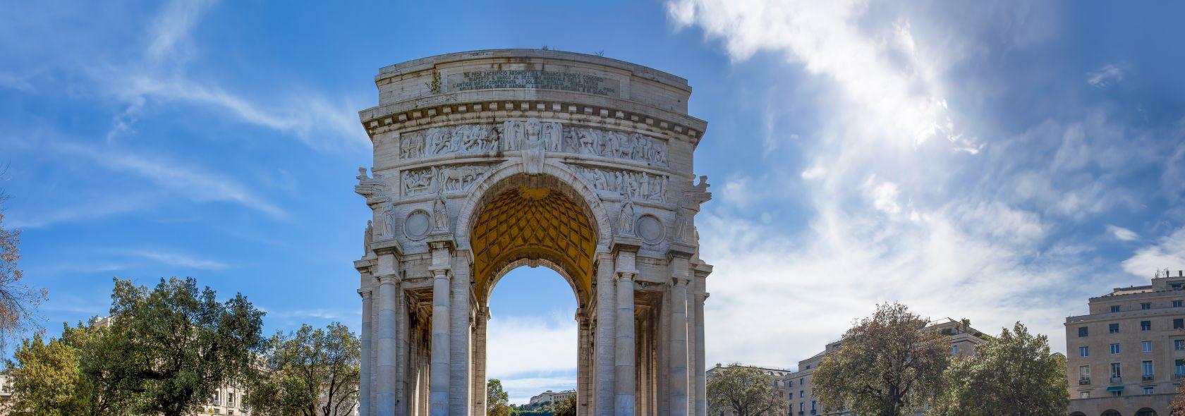 Piazza della Vittoria - Monumento ai Caduti
