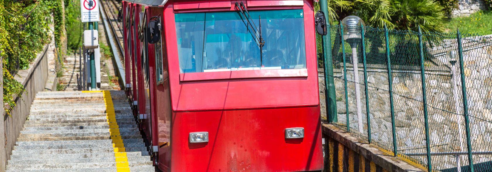 Seilbahn und Zahnradbahn