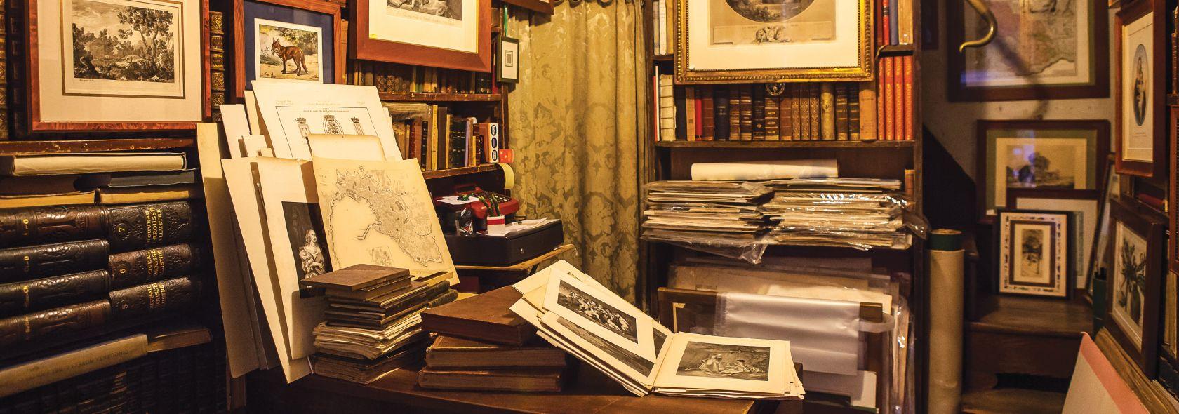 Libreria antiquaria Dallai - foto: Alberto Blasetti (courtesy Marco Polo)