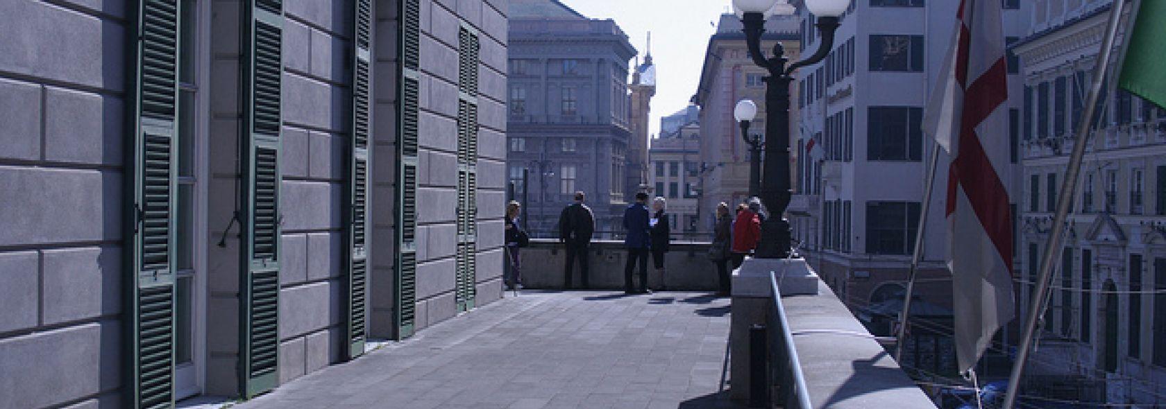 Teatro Carlo Felice - balcon - scenografia - foto: Ruocco - ©genovacittadigitale