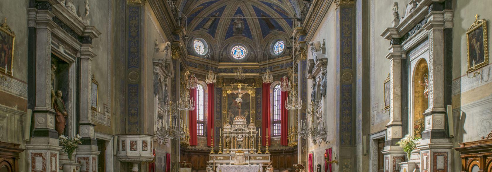 Certosa di Rivarolo, Genova - interno