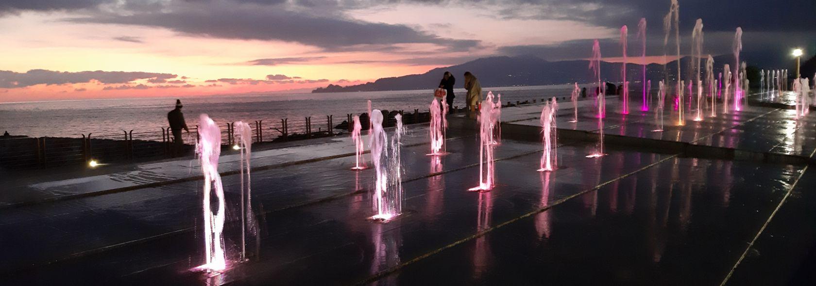 Chiavari: passeggiata a mare - Foto Ufficio Comunicazione Città Metropolitana di
