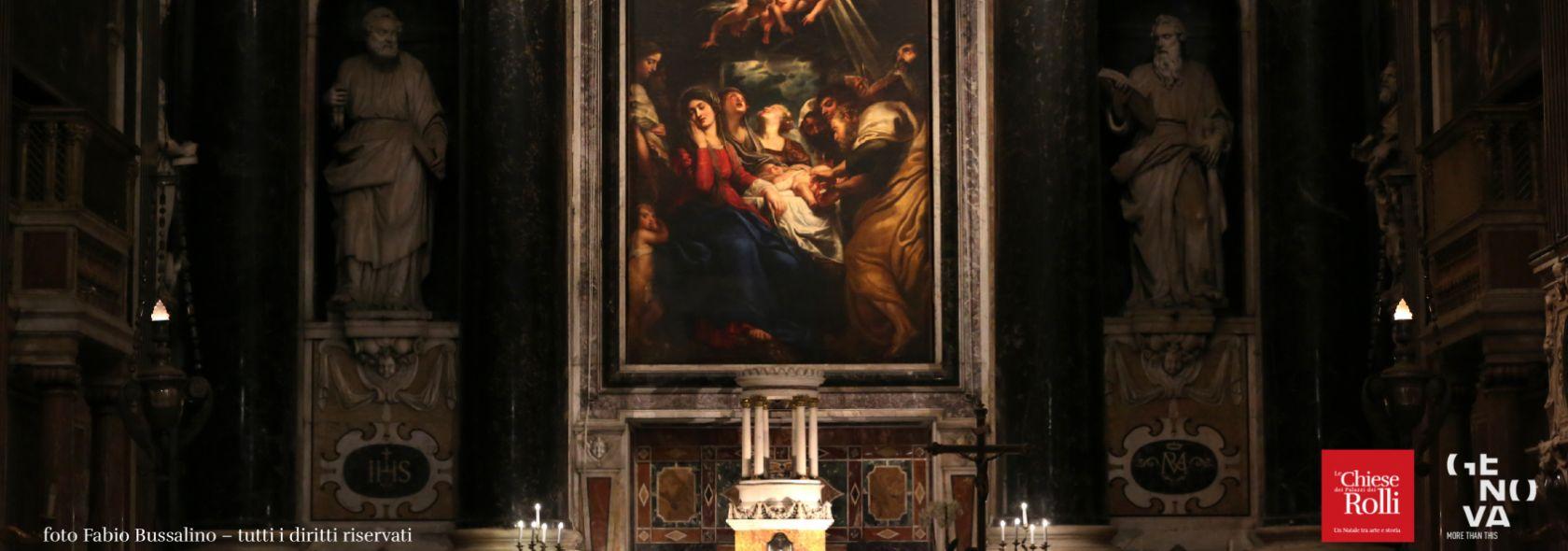 Chiesa del Gesu - P.P.Rubens, Circoncisione di Gesu - Foto Fabio Bussalino