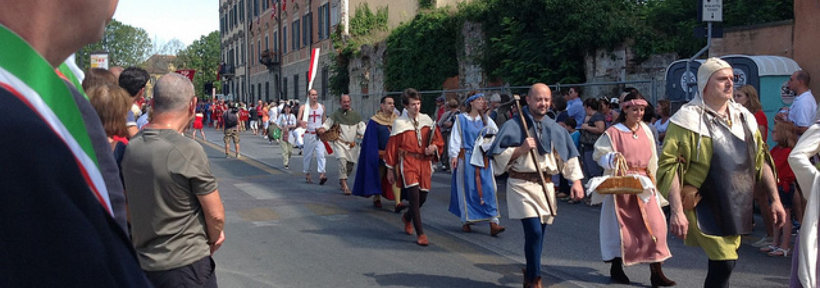 The Medieval Pageant of Genoa - Pisa 2013 - ©genovacittadigitale