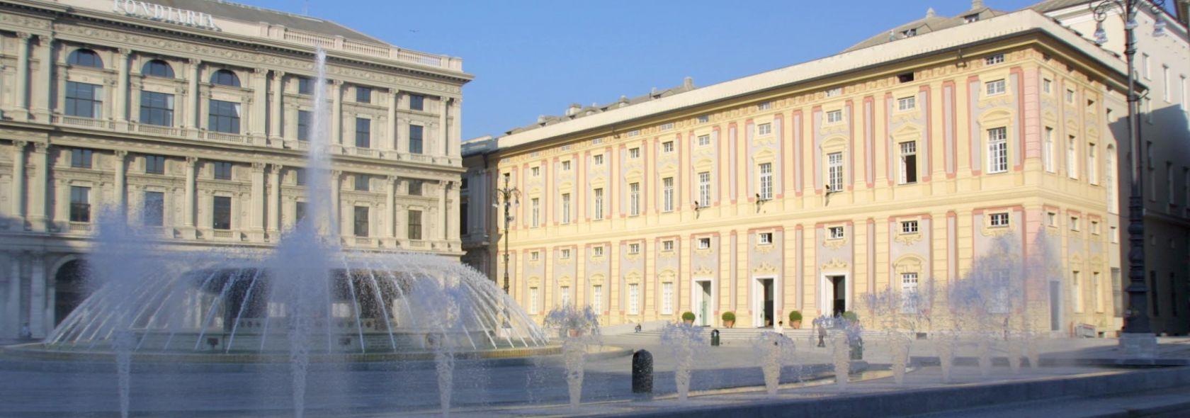 Piazza de Ferrari - Foto Ufficio Comunicazione Città Metropolitana di Genova