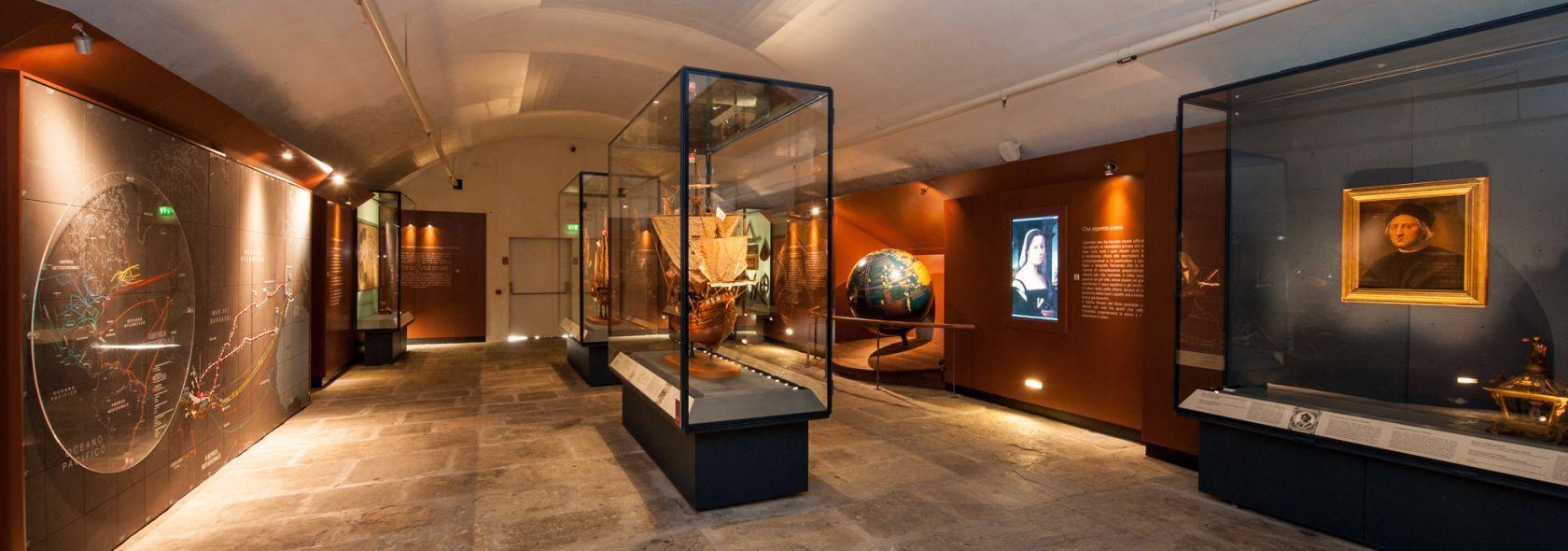 Galata Museo del Mare - Sala Colombo