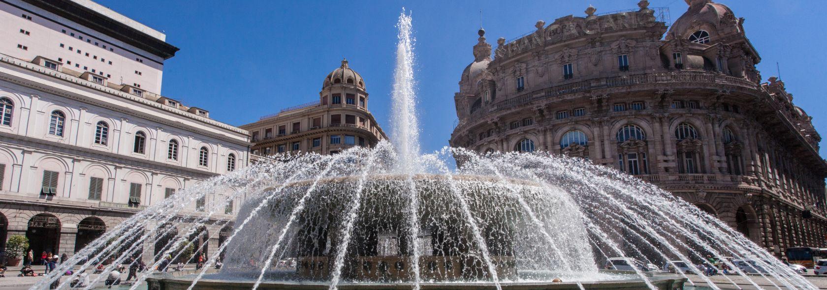 Genova - Piazza De Ferrari  - Photo © Xedum