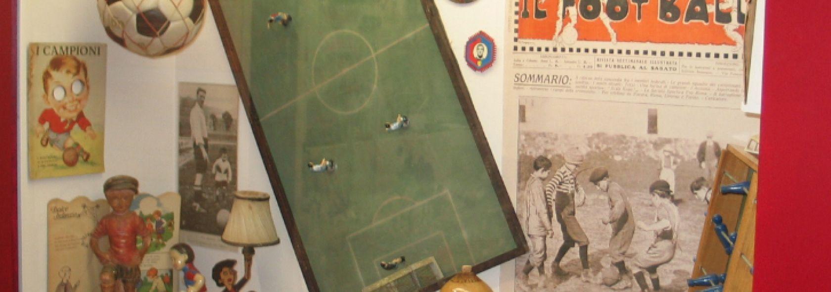 Museo della Storia del Genoa - Giochi d'epoca rossoblù