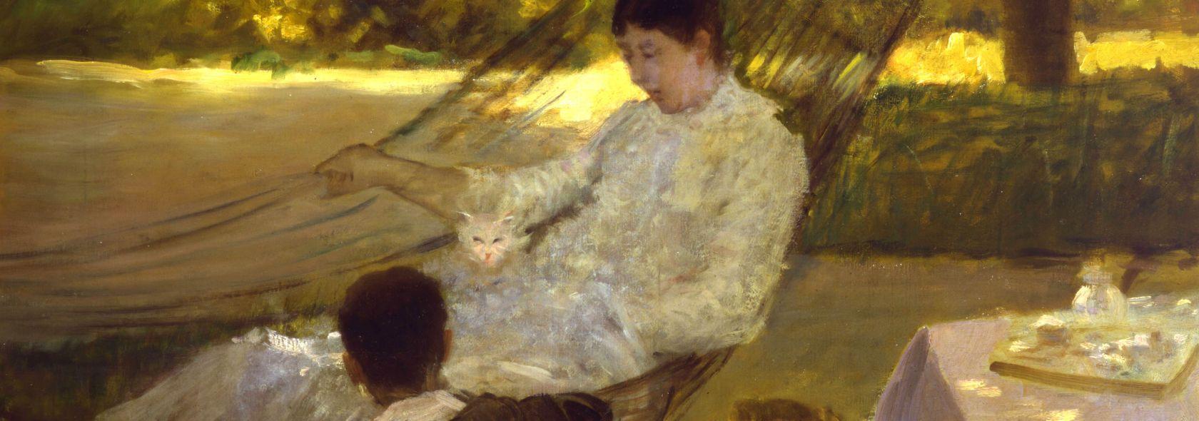 Giuseppe De Nittis - L'amaca - 1884 ca