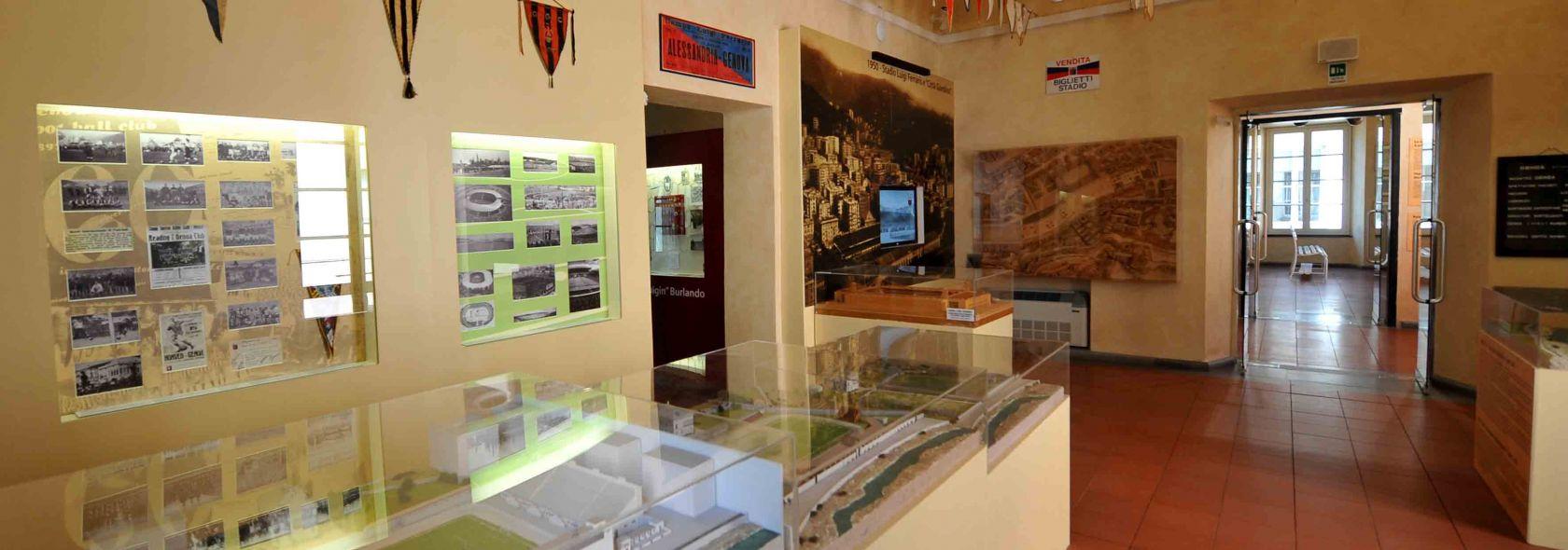 Museo della Storia del Genoa - I campi