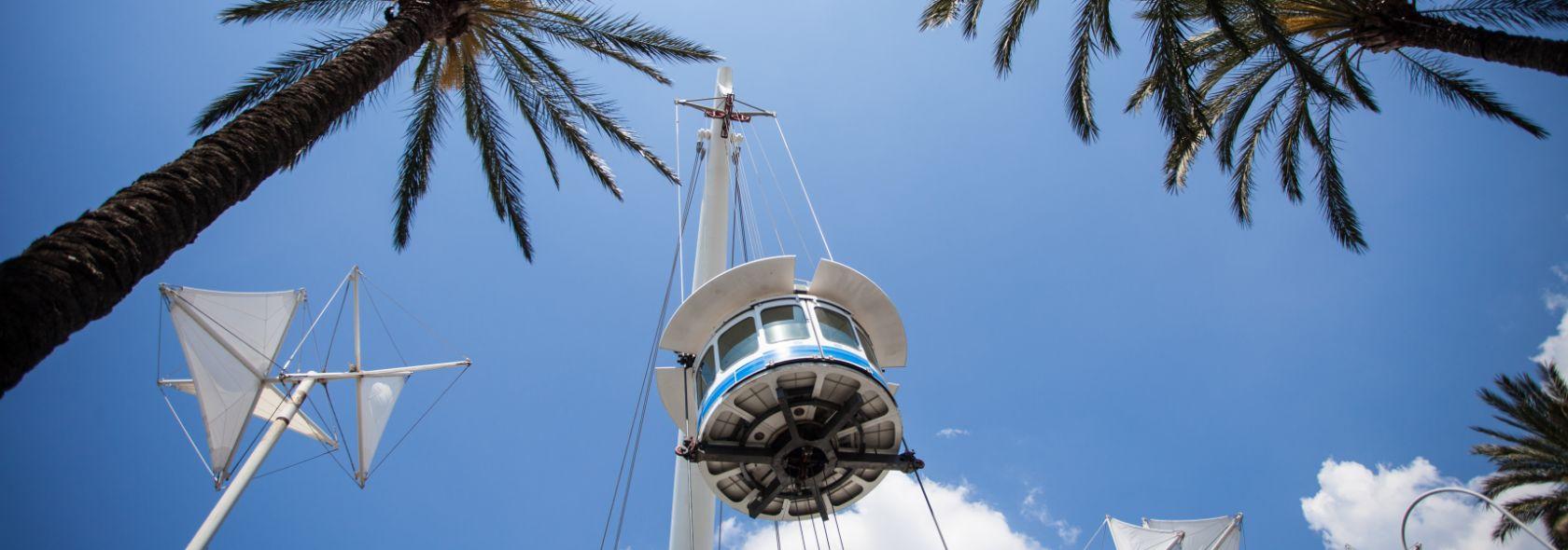 Il Bigo, ascensore panoramico progettato da Renzo Piano