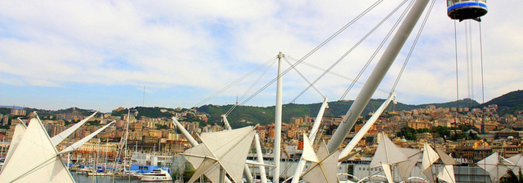 """Itinerario Quattro """"piccoli"""" passi a Genova - Bigo - Giordano - ©genovacittadigi"""