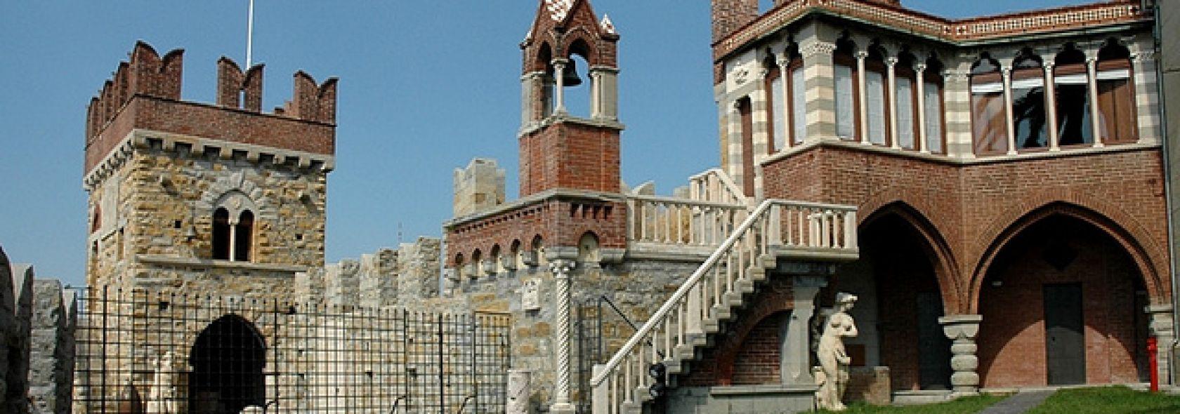 """Itinerario Quattro """"piccoli"""" passi a Genova - Castello D Albertis - esterno - ©g"""