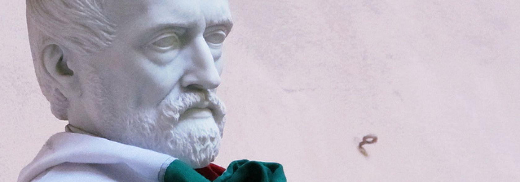 Giuseppe Mazzini - tricolore - Rinaldi©genovacittadigitale