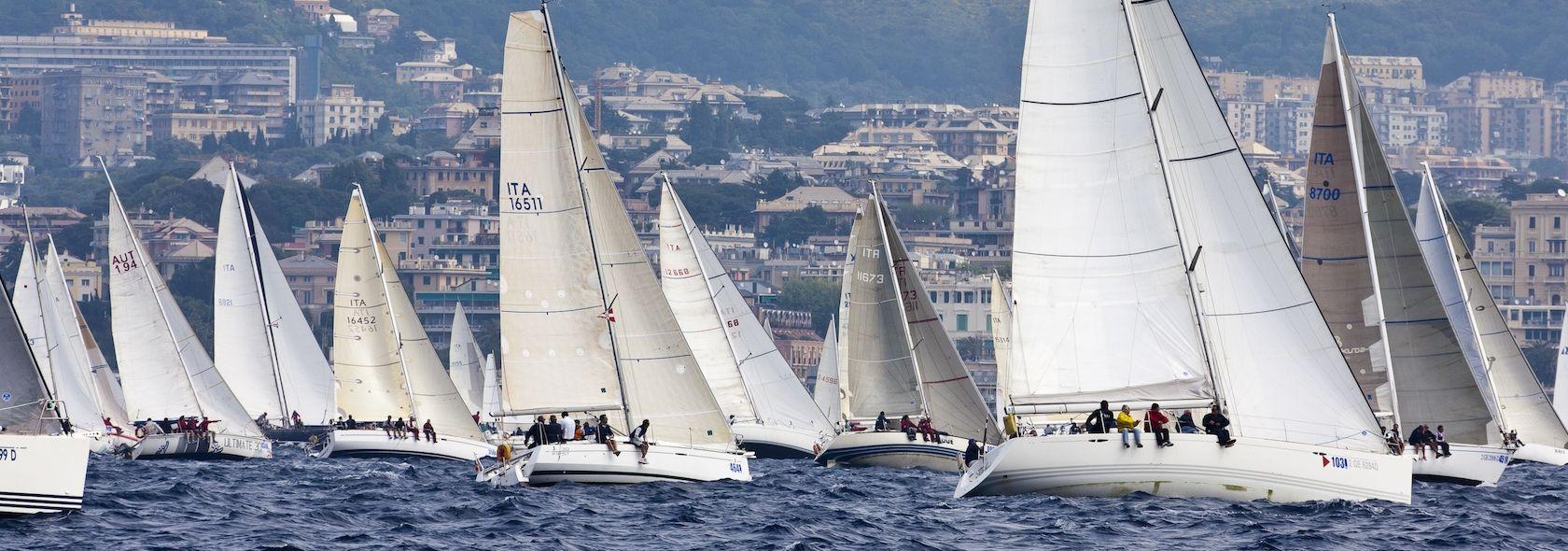 La Mille Vele nel mare di Genova