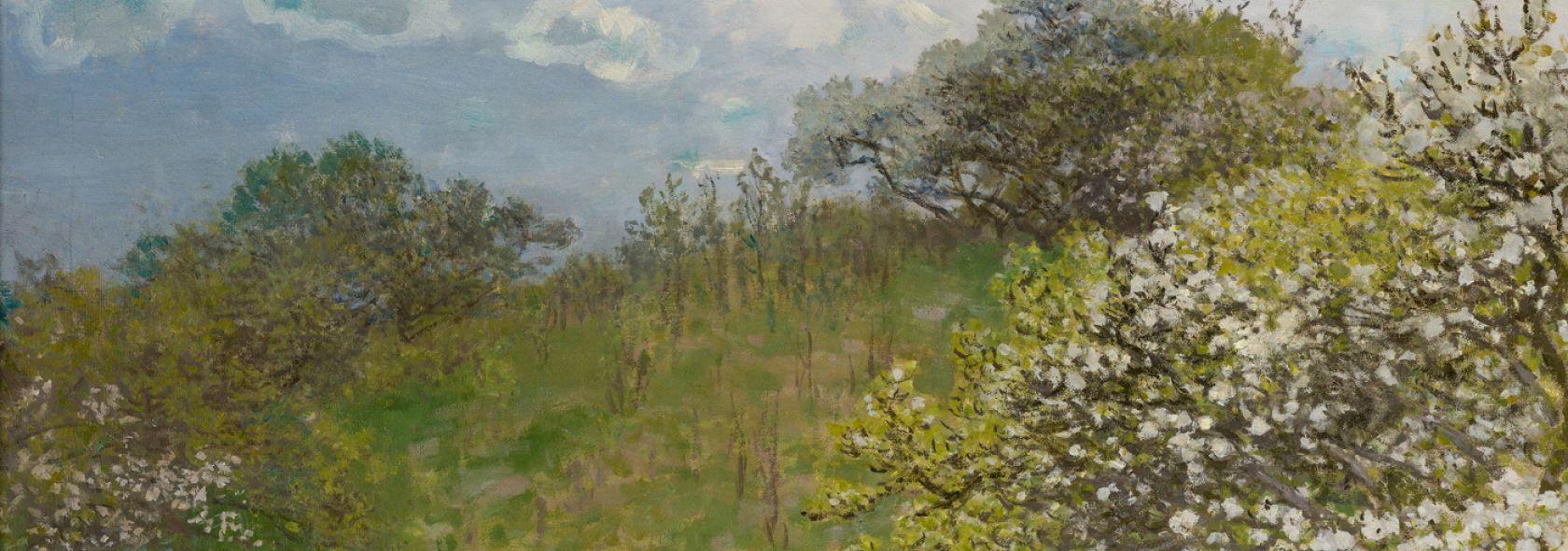 Claude Monet, la primavera