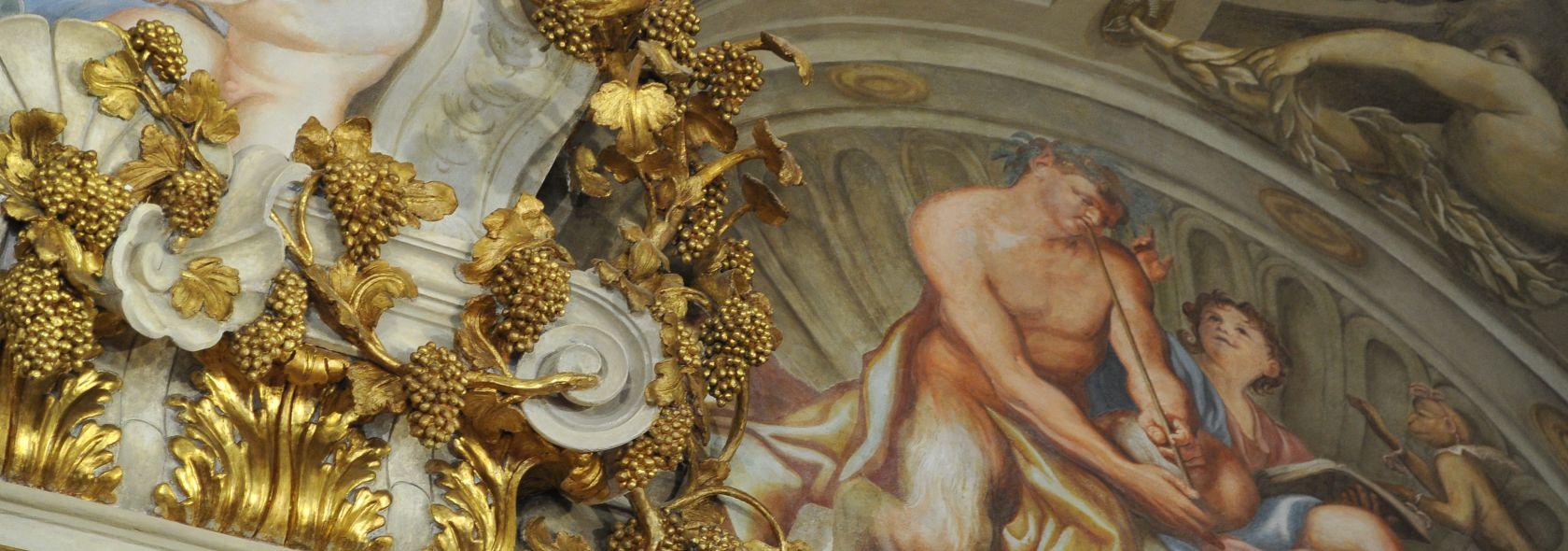 Domenico Piola - particolare dell'Allegoria dell'autunno - © Studio Leoni