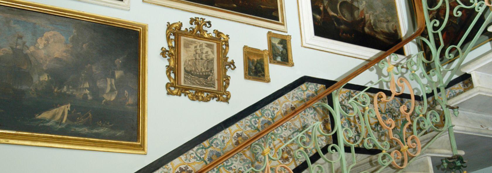 Museo Giannettino Luxoro - scalone - DOCSAI - ©Archivio fotografico Genova