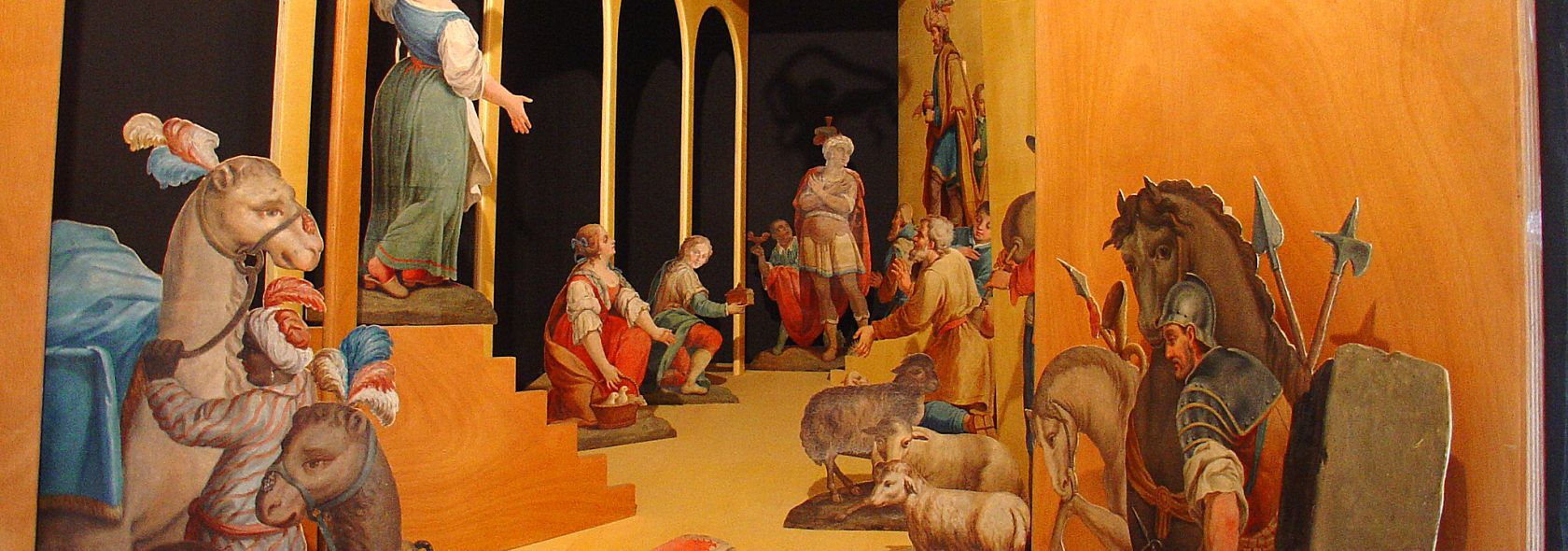 Sagome dell'antico presepe lombardo - DOCSAI - ©Archivio fotografico Genova