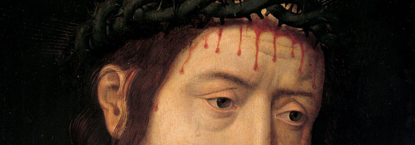 Hans Memling - Cristo benedicente -  © Musei di Strada Nuova