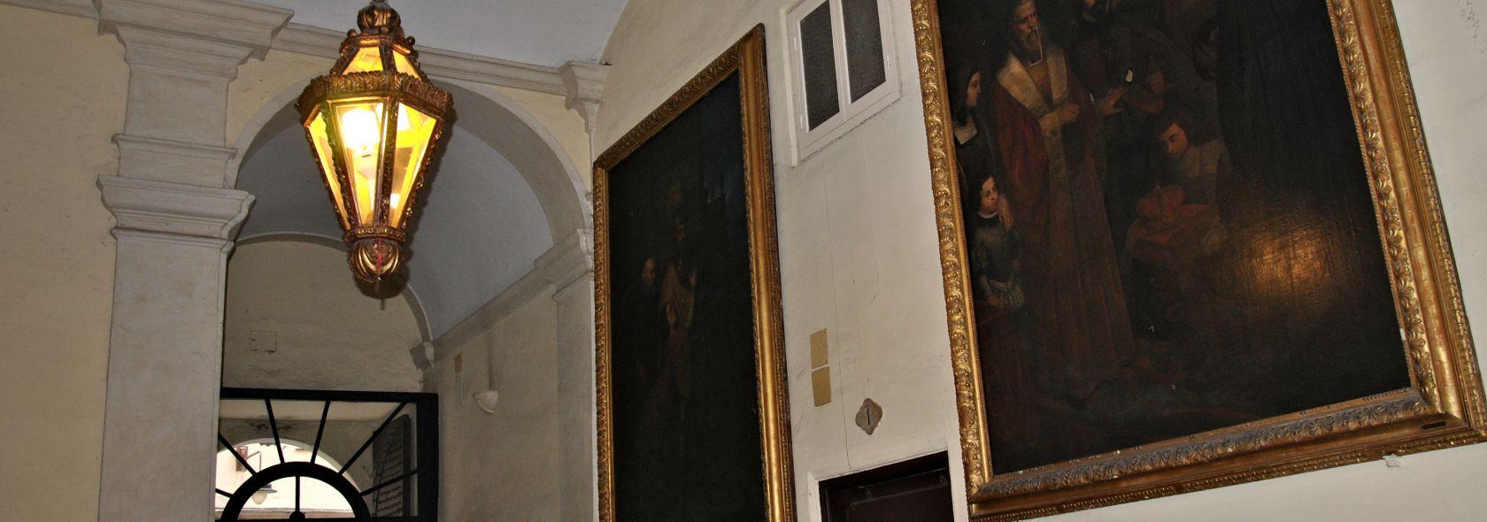 Palazzo De Marini Croce - atrio - © Foto Camilla Severino