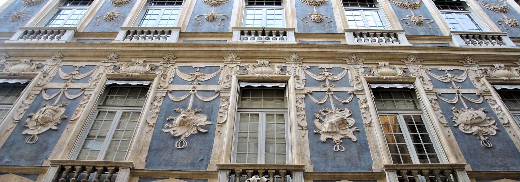 Palazzo Nicolosio Lomellini, poi Podestà - facciata