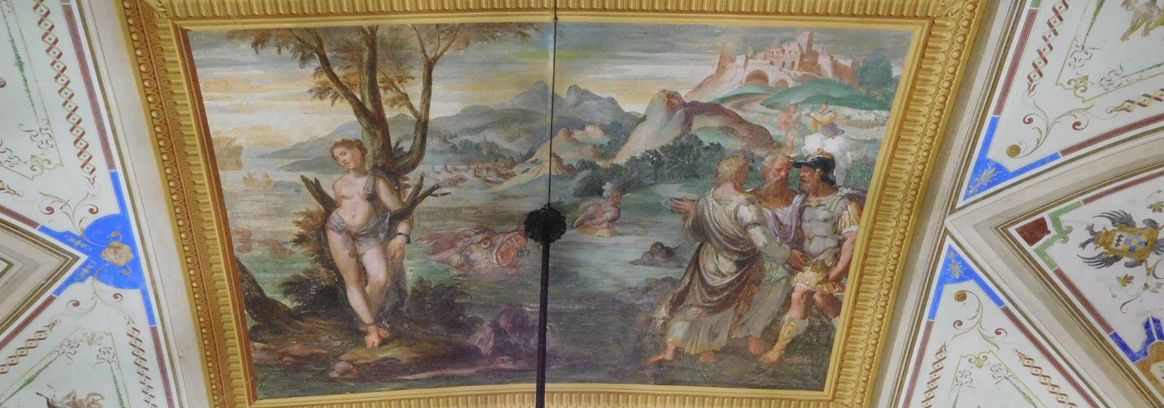 Palazzo Pessagno - affresco - foto: Wikipedia  CC-BY-SA-4.0