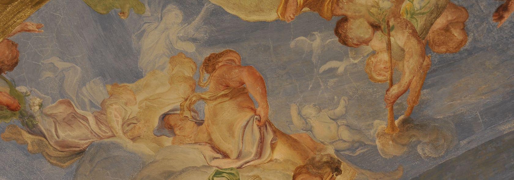 Gregorio de Ferrari - particolare della Sala della primavera - ©Studio Leoni