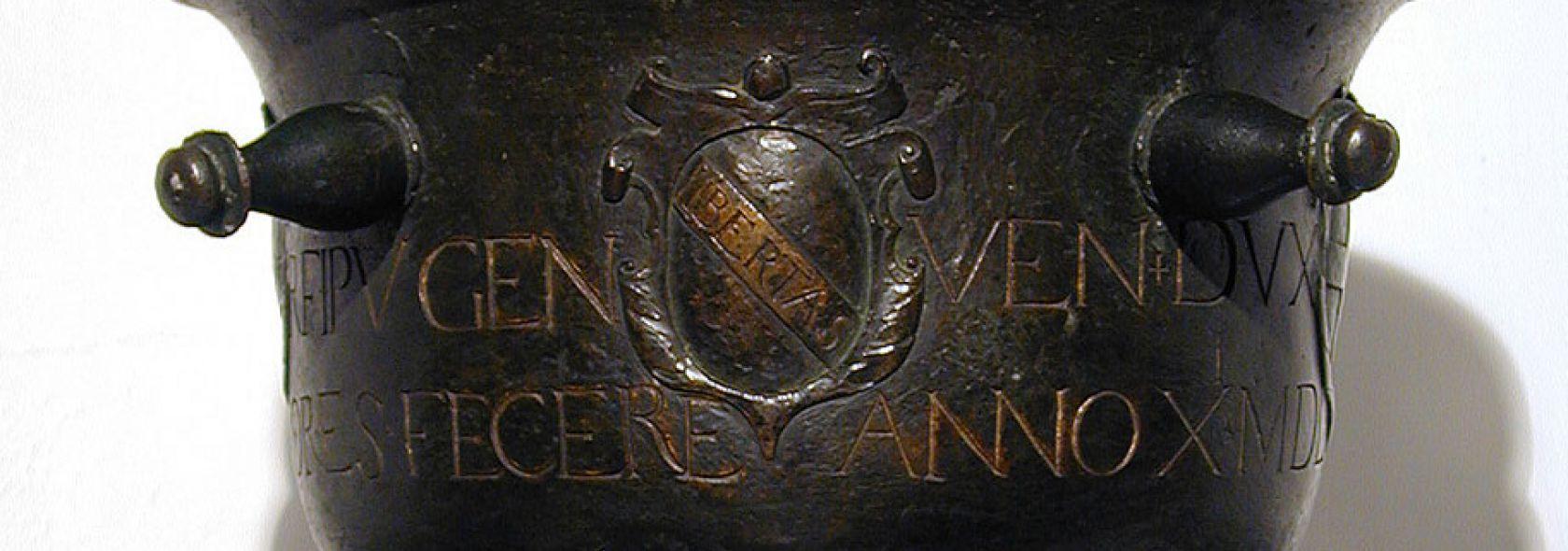 Palazzo Tursi - Staio per grano in bronzo - © Musei di Strada Nuova