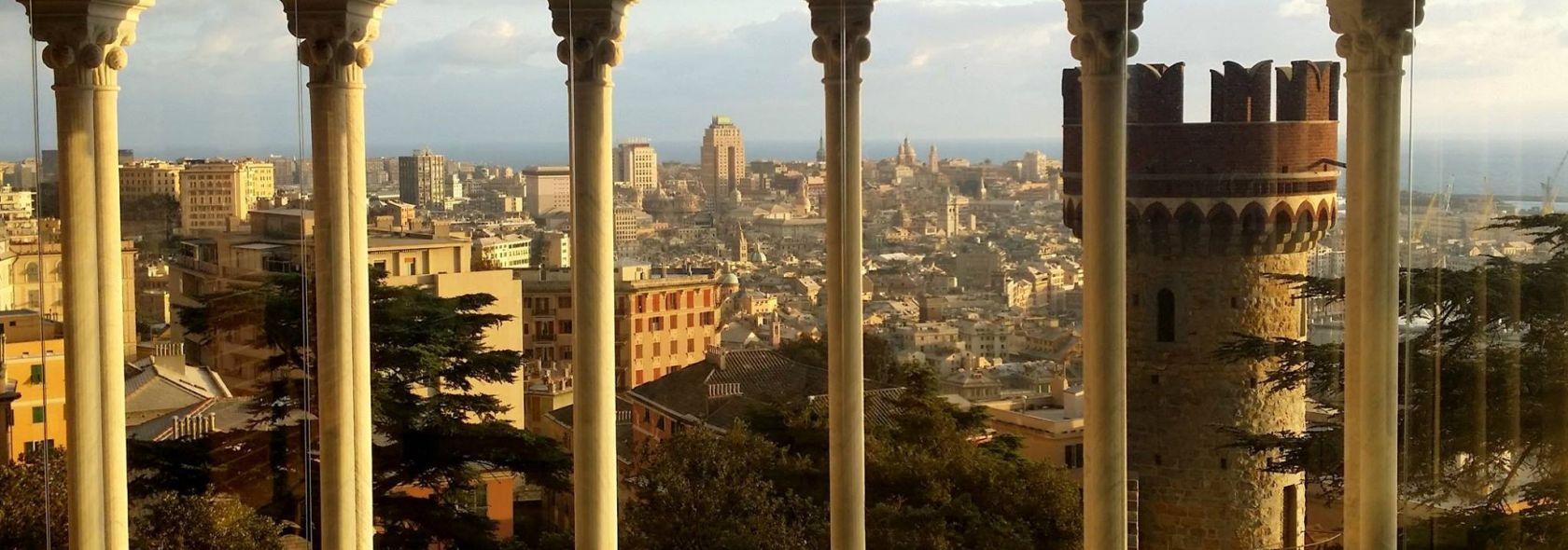 Panorama dal Castello d'Albertis