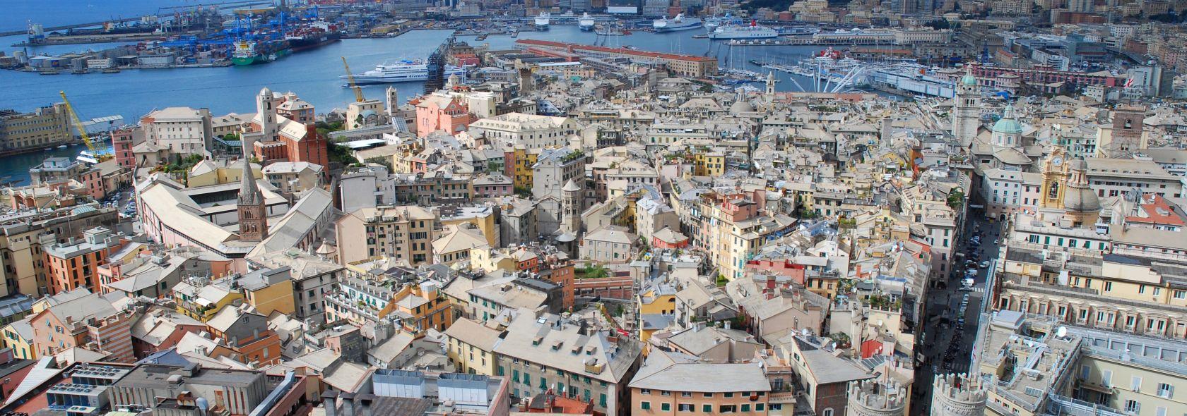 Panorama dal grattacielo di Piazza Dante
