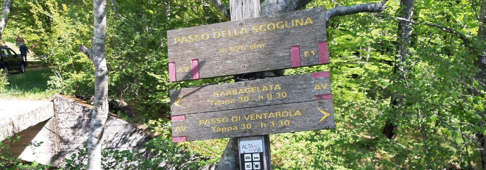 Passo della Scoglina - Ventarola archivio Città Metropolitana