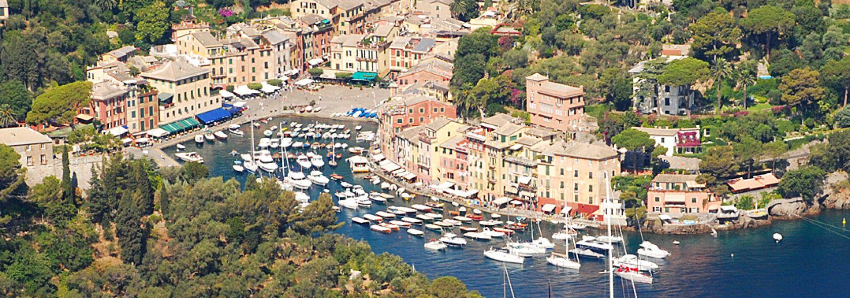 Portofino - panorama dal Castello Brown