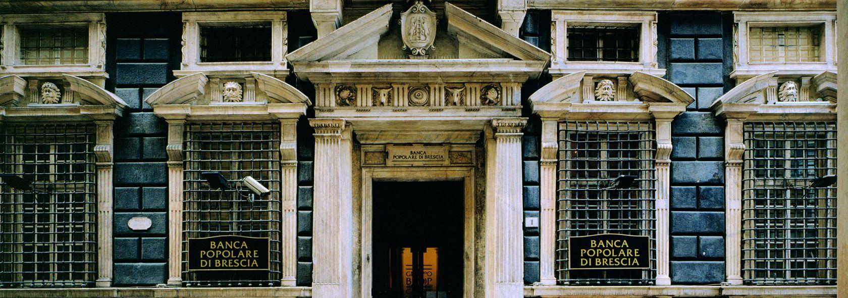 Palazzo Agostino Pallavicini - Banca Popolare di Brescia