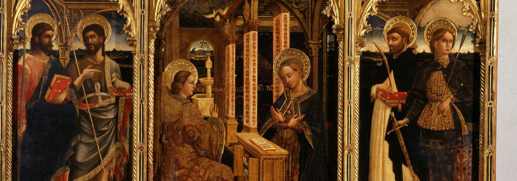 S.M di Castello - Mazone - Polittico dell'Annunciazione - 1469 - ©Archivio Scala